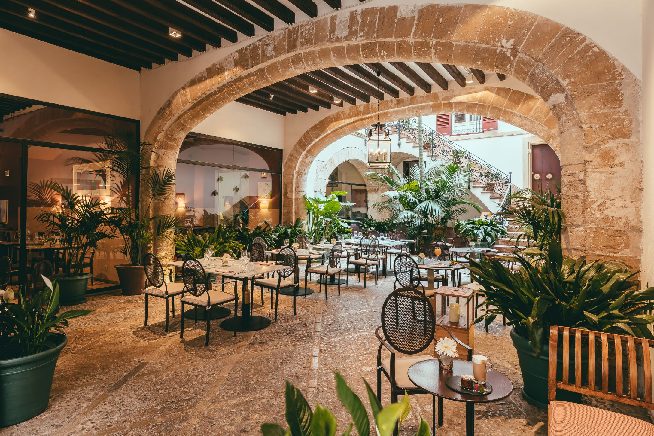 Patio at Boutique Hotel Can Cera in Palma