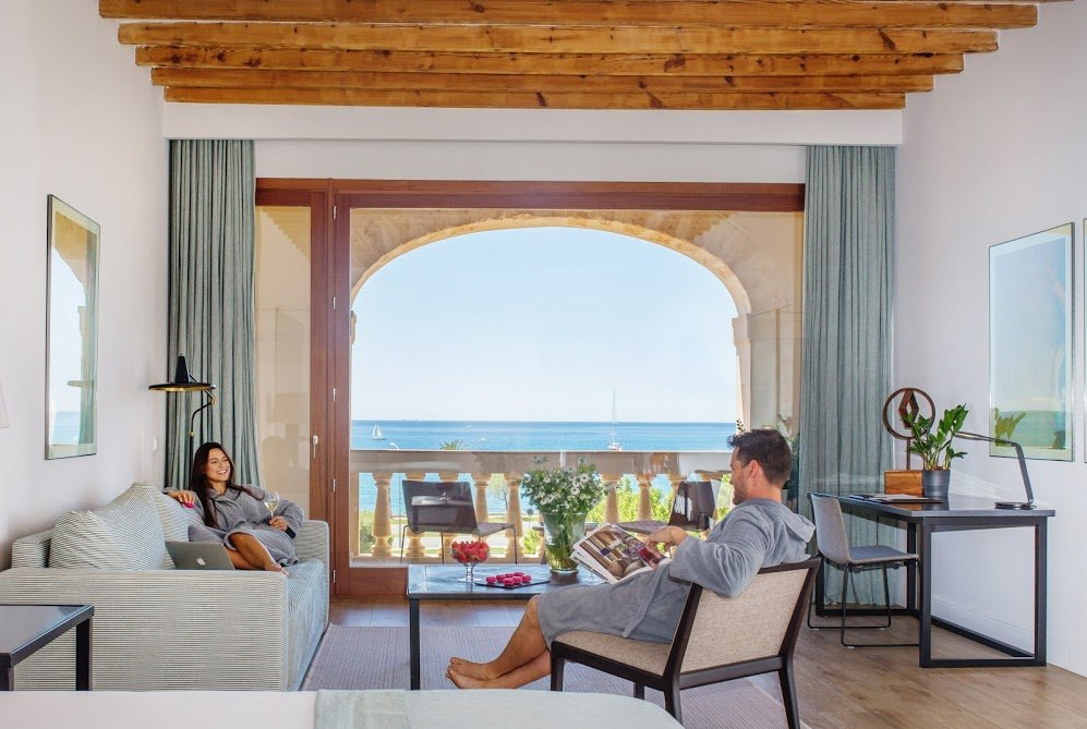 Suite with Sea Views at Boutique Hotel Calatrava
