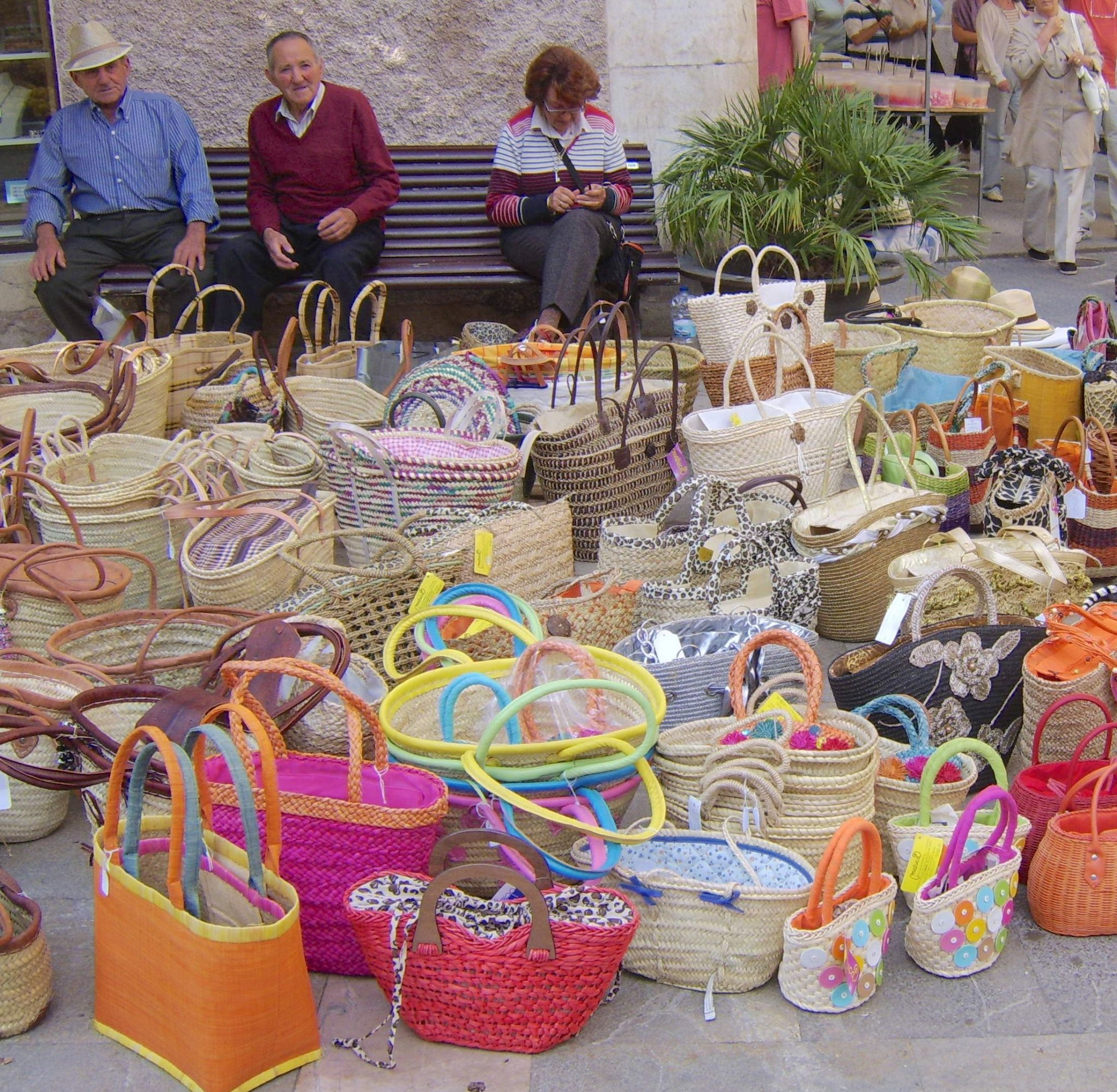 Basketware for sale - Sineu Market