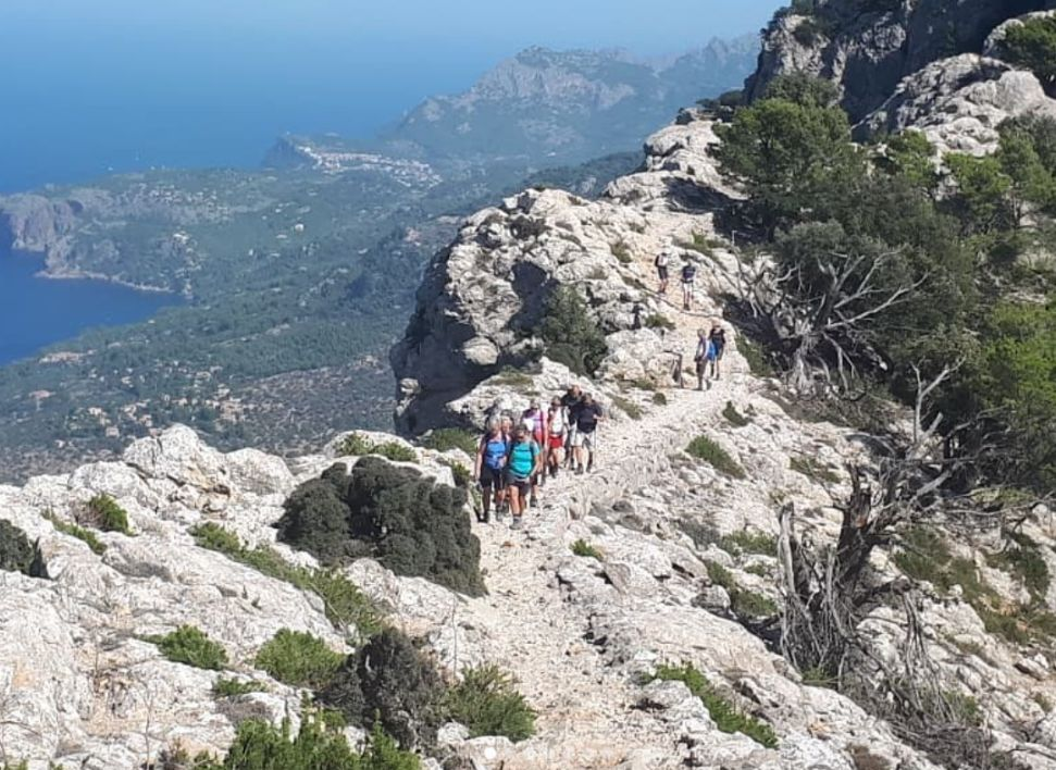 The Archdukes Ridge walk - Mallorca