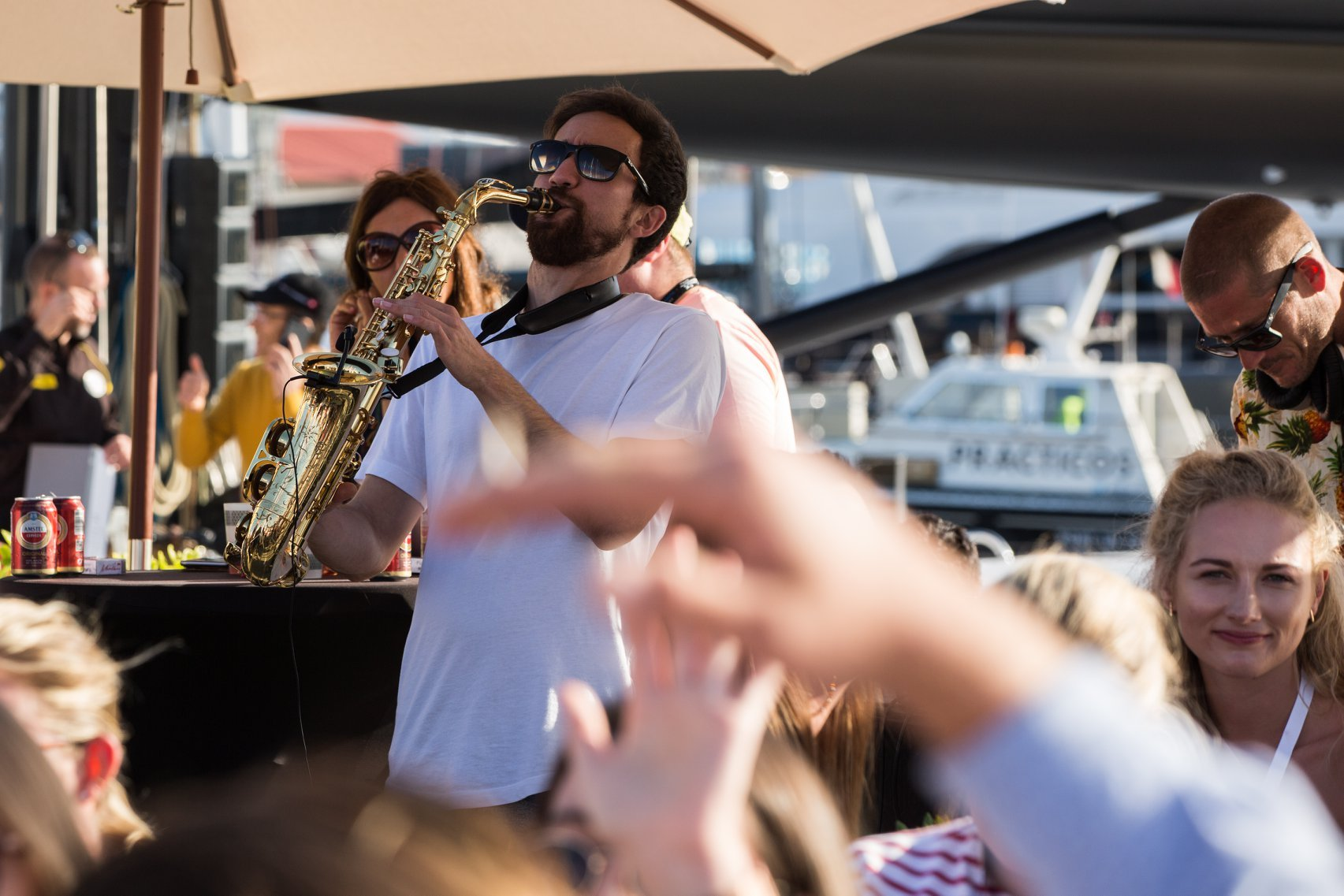 Lots of music to enjoy at Palma International Boat Show