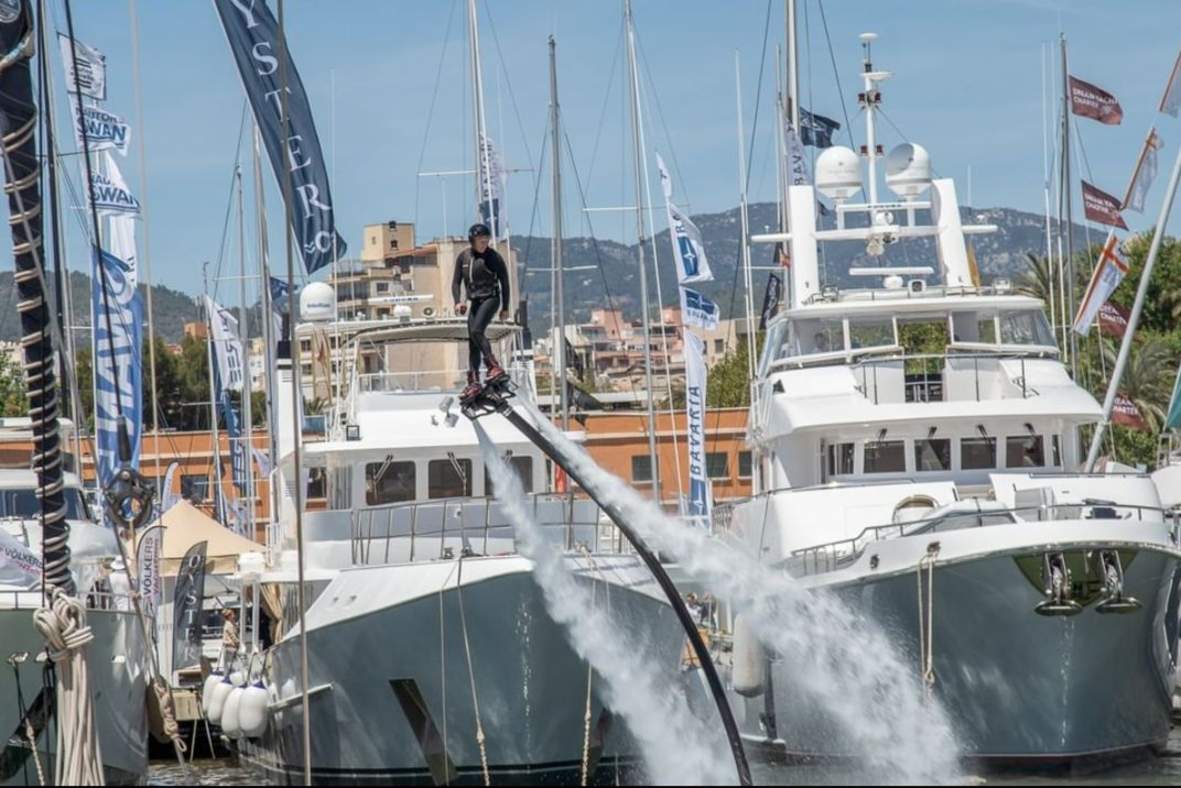 Palma International Boat Show - Mallorca - Fun and tricks