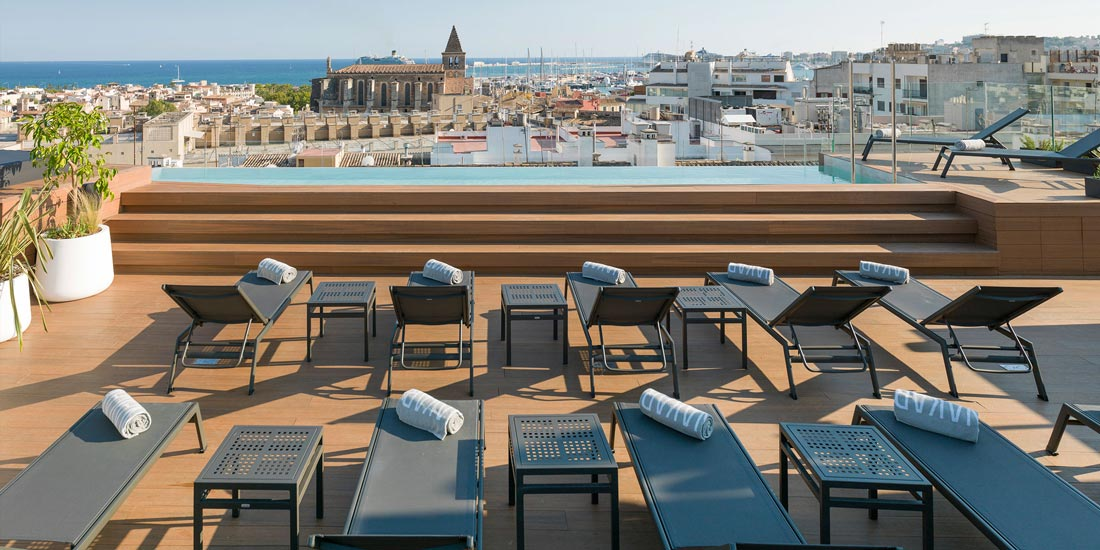 Hotel-Nakar-Palma Pool Roof Top